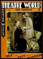 Wise Tomorrow programme 1937